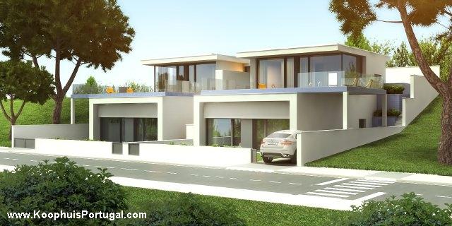 Moderne villas met fantastisch zicht op de baai - Foto gevel moderne villa ...