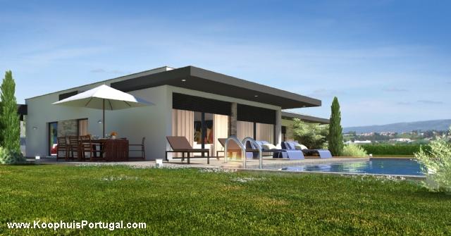Moderne villa met zwembad in aanbouw - Foto moderne villa ...