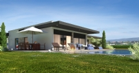 Modern villa to be built on 4.600 m2