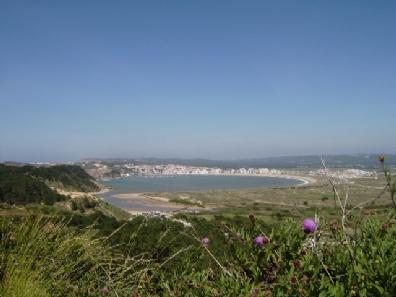 Sao Martinho do Porto staat bekent om de prachtige natuurlijke baai