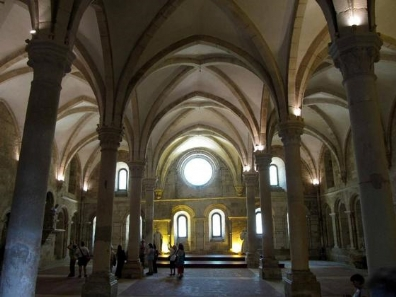 Alcobaça has an imposing monestry, which is part of the Unesco World heritage