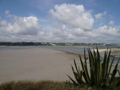 Zuidelijk van de baai van Sao Martinho do Porto is nog een natuurlijke lagune bij het badplaatsje Foz do Arelho